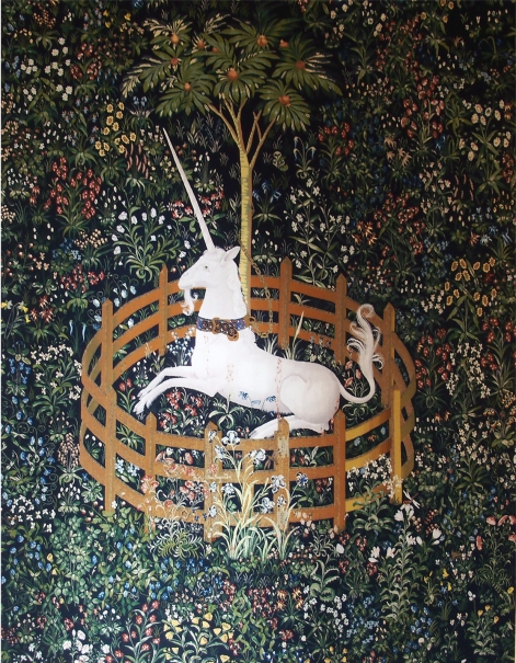The Unicorn in Captivity (from the Unicorn Tapestries) 1495-1505